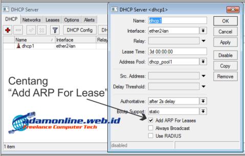 Block Non DHCP Client