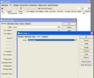 Konfigurasi RB750 sebagai Internet Router Gateway