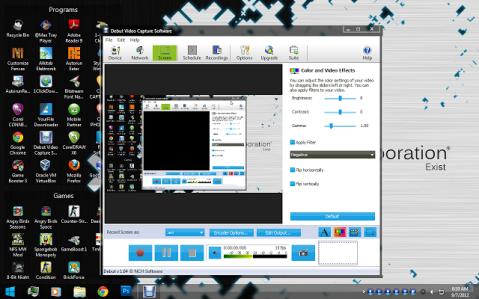 download webcam video record, rekam video dengan webcam, download debut video capture